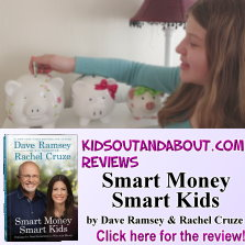KidsOutAndAbout reviews Smart Money Smart Kids by Dave Ramsey & Rachel Cruze
